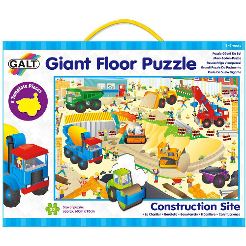 Giant Floor Puzzle - Construction Site