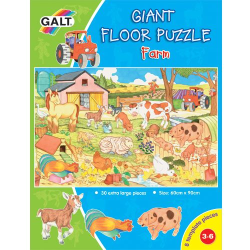 Giant Floor Puzzle - Farm