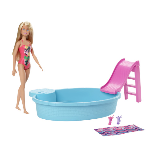 Papusa Barbie la Piscina
