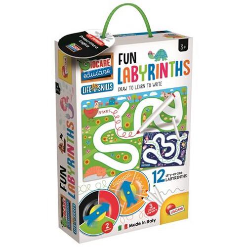 Lisciani Joc Montessori – Labirinturi Amuzante