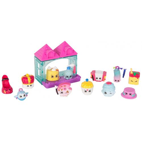 Pachet 12 Figurine Shopkins Happy Places - Colectia Europa Pink