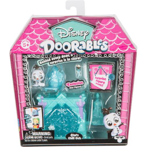 Mini Set Doorables S1 cu 2 Figurine si Accesorii Olaf