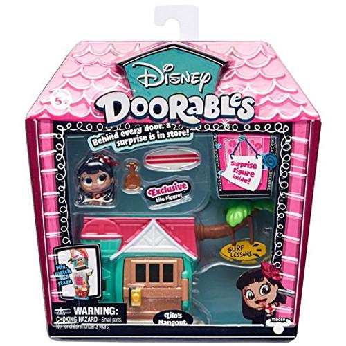 Mini Set Doorables S1 cu 2 Figurine si Accesorii Lilos Hangout