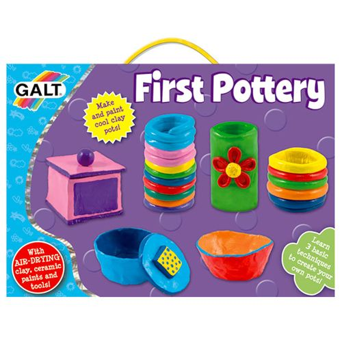 First Pottery - Primul Meu Kit de Olarit