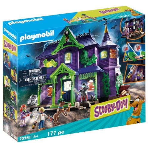 Set de Constructie Scooby-Doo si Casa Misterelor imagine