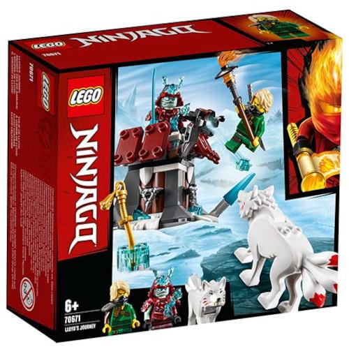 LEGO NINJAGO Calatoria lui Lloyd 70671