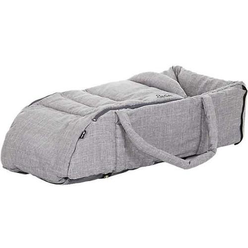 Port Bebe cu Manere Carry Soft Woven Grey