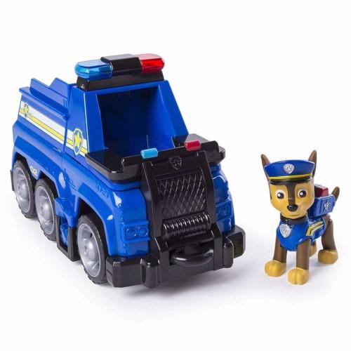 Figurina Chase cu Masina de Politie Ultimate Rescue, Patrula Catelusilor