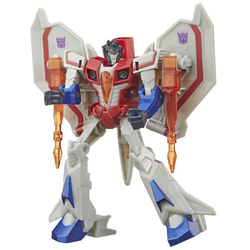 Figurina Transformers Cyberverse Action Attackers Starscream