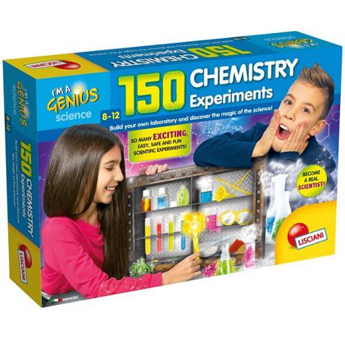 Lisciani Joc Educativ Laboratorul de Chimie – 150 Experimente