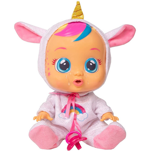 Papusa Cry Babies, Bebe Plangacios Unicornul Dreamy