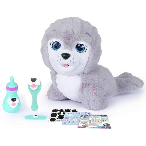 Jucarie Interactiva de Plus Cry Pets - Foca Silver