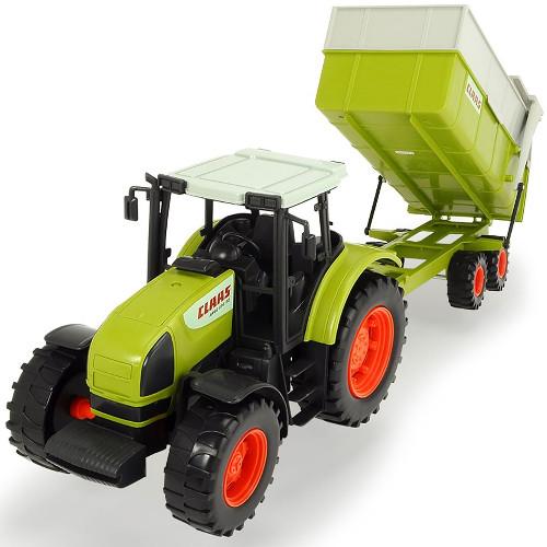 Tractor Claas Ares cu Remorca