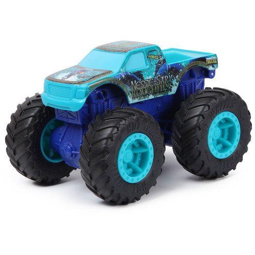 Masina Hot Wheels by Mattel Monster Trucks Nessie Sary Roughness imagine