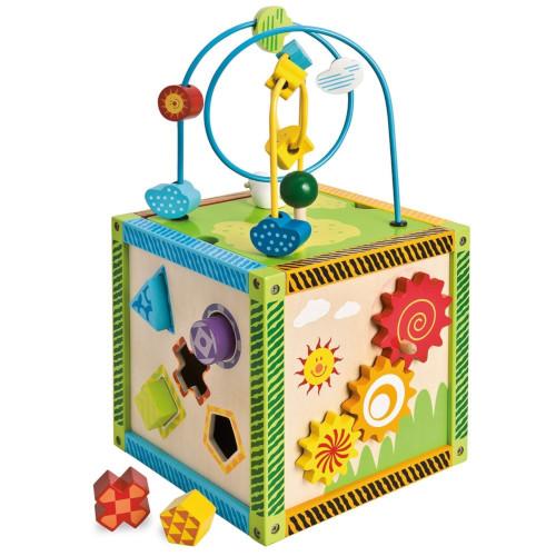 Eichhorn Jucarie Cub de Dexteritate Little Game Center