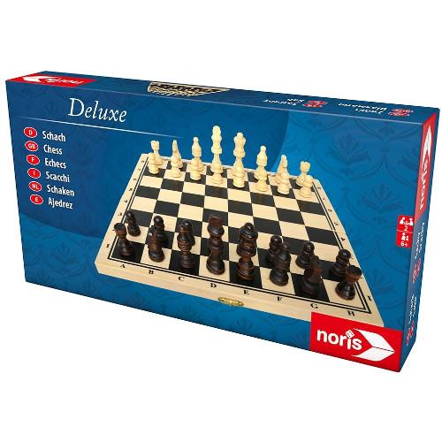 Noris Joc de Societate Deluxe Wooden Chess