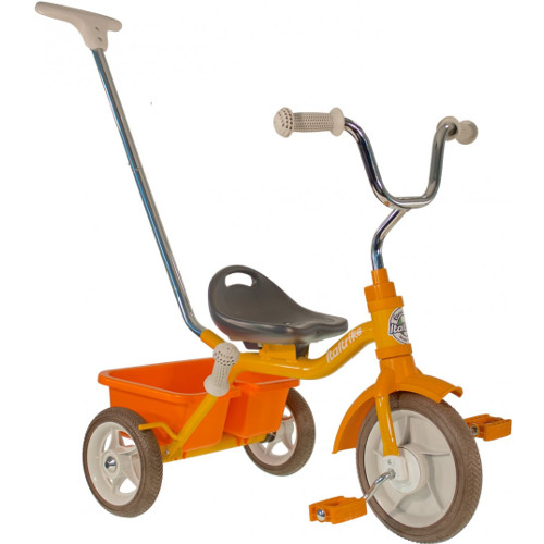 Italtrike Tricicleta Passenger Road Galbena