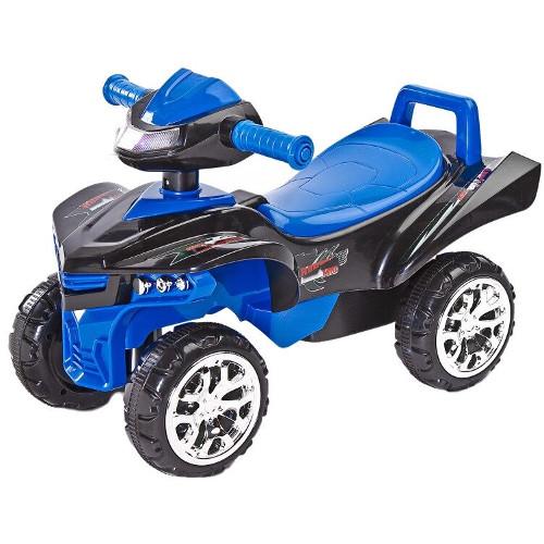 Vehicul Ride-On Mini Raptor 2 in 1 cu Sunete si Lumini