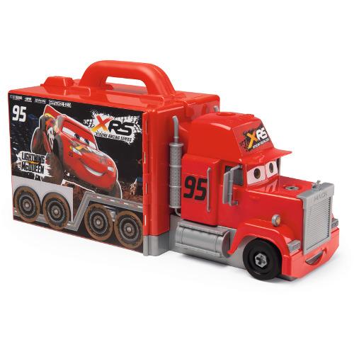 Smoby Camion Mack Truck cu Masinuta Flash McQueen Cars XRS