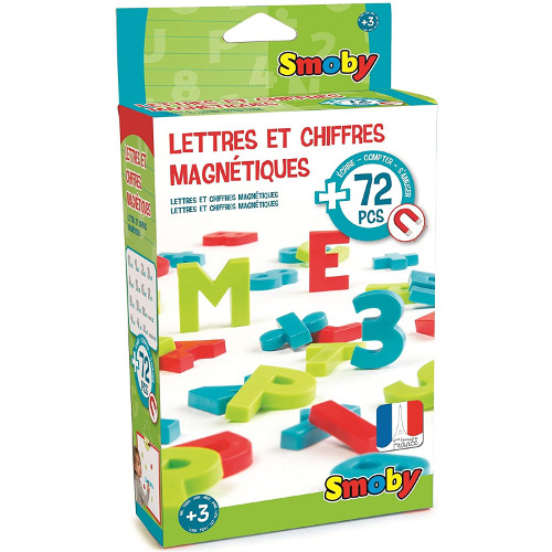 Smoby Set 72 Litere si Cifre Magnetice