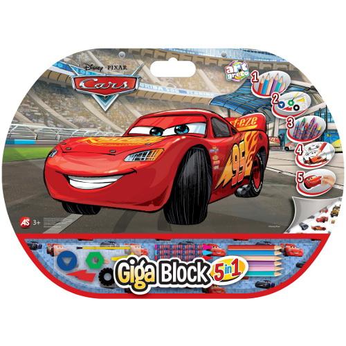 Set pentru Desen 5 in 1 Gigablock Cars