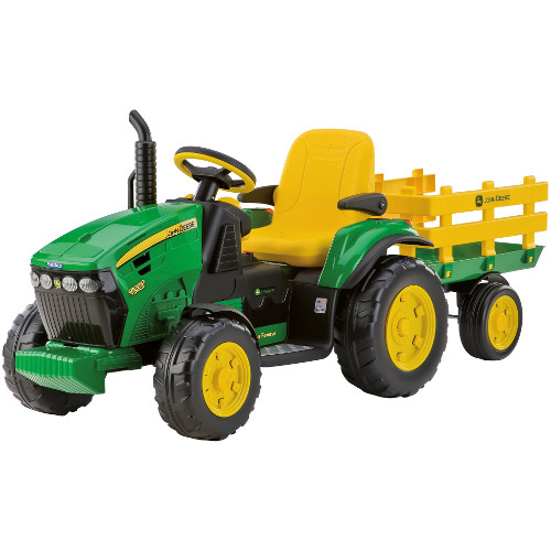 Tractor JD Ground Force cu Remorca