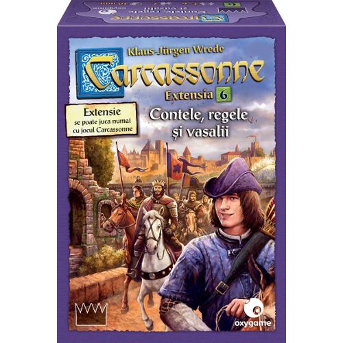Carcassonne Extensia VI - Contele, Regele si Vasalii