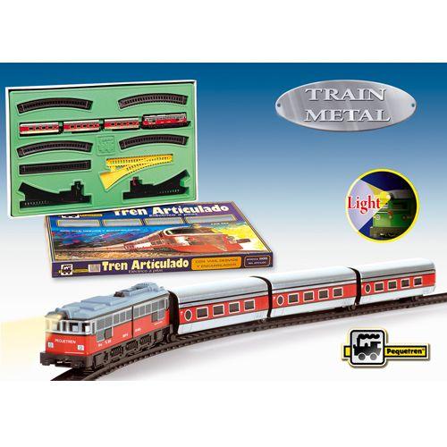 Pequetren Trenulet Electric Articulado