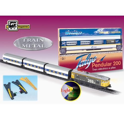 Pequetren Trenulet Electric Talgo Pendular 200 cu Macaz