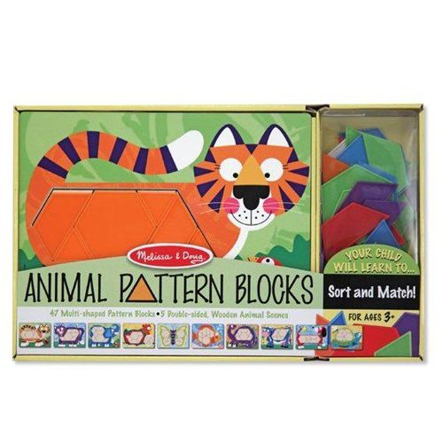 Melissa and Doug Set de Sabloane cu Animale